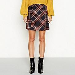 Red Herring - Multicoloured tartan print kilt mini skirt a4a1a998db