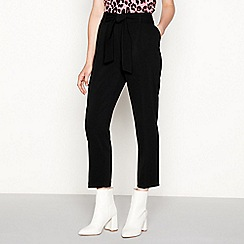 Red Herring - Black belted trousers