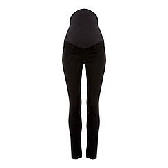 Red Herring - Black Skinny Fit Maternity Jeans