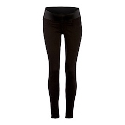 Red Herring - Black Denim Maternity Jeggings