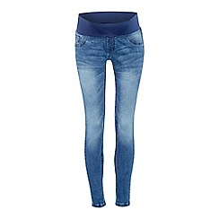 Red Herring - Mid Blue Denim Maternity Jeggings