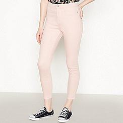 Red Herring - Pale Pink 'Heidi' Ankle Grazer Skinny Jeans