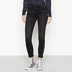 Red Herring - Black 'Holly' Skinny Ankle Grazer Jeans