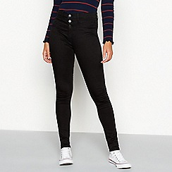Red Herring - Black Waist Enhancer 'Carly' Skinny Jeans