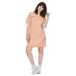 7b705cd21eec Noisy may - Pink  Endi  cold shoulder knee length shift dress