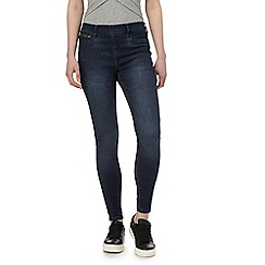 Red Herring - Dark blue 'Georgia' dark-wash jeggings