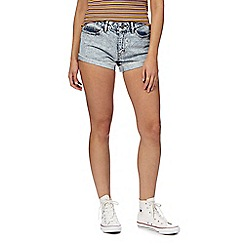 Noisy may - Light blue 'Fran' shorts