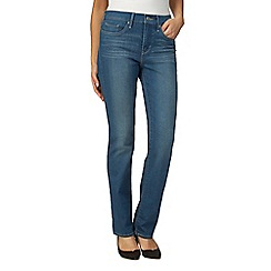 Levi's - Blue 311 shaping straight leg jeans