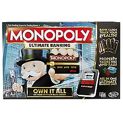 Hasbro - Monopoly Game: Ultimate Banking Edition