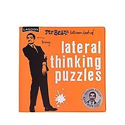 Debenhams - Mr Bean's Bathroom Book of Lateral Thinking Puzzles