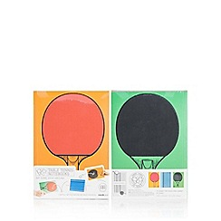 Debenhams - Table tennis note books