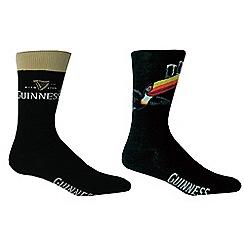 Guinness - Pack of two socks gift set