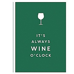 All Sorted - It's Always Wine O'Clock Book