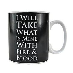 Game of Thrones - Daenerys Targaryen heat changing mug