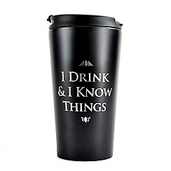 Game of Thrones - I Drink & I Know Things travel mug
