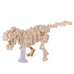 Nanoblock - T-Rex skeleton model building kit - NAN-NBC185
