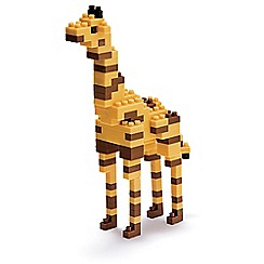 Nanoblock - Giraffe model building kit - NAN-NBC158
