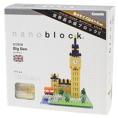 Nanoblock - Big Ben model building kit - NAN-NBH029