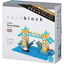 Nanoblock - Tower bridge model building kit - NAN-NBH065