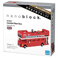 Nanoblock - London tour bus model building kit - NAN-NBH080