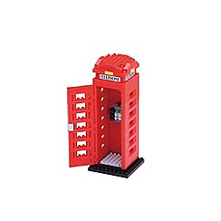 Nanoblock - Telephone box model building kit - NAN-NBH125