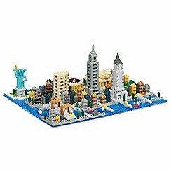 Nanoblock - New York scene model building kit - NAN-NB033