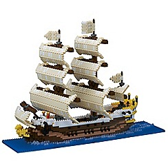 Nanoblock - Sailing ship model building kit - NAN-NB030