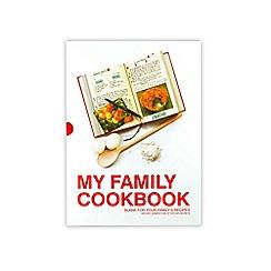 Debenhams - My family cookbook