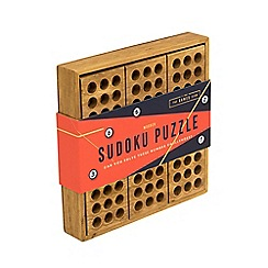 The Games Club - Wooden Sudoku Puzzle