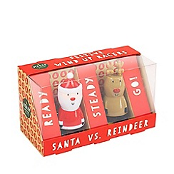 Merry Little Gifts - Santa vs. Reindeer Festive Wind Up Racers