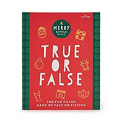 Merry Little Gifts - True or False game