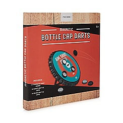 The Shed - Bottle cap darts board