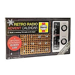 Haynes - Build Your Own Retro Radio Advent Calendar