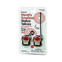 Funtime - Set of 2 World's Smallest Walkie Talkies