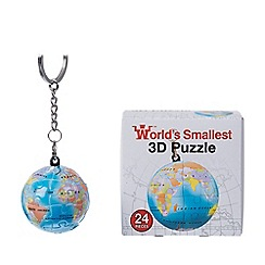 Funtime - 24 Piece World's Smallest 3D Puzzle Keyring