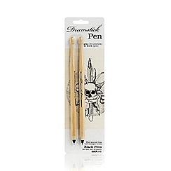 Suck UK - 2 pack black drumstick pens
