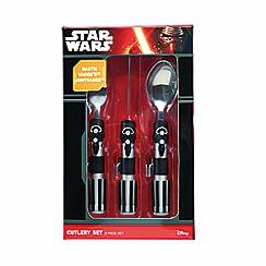Star Wars - Darth Vader 3 Piece Cutlery Set