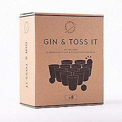 Gentlemen's Society - Gin and Toss It Drinking Game