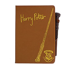 HARRY POTTER - Hogwarts Notebook and Wand Pen