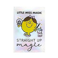 Mr Men - Little Miss Magic Notebook