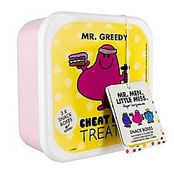 Mr Men - Set of 3 Mr. Men and Little Miss Snack Boxes