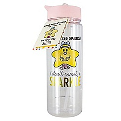 Mr Men - Little Miss Sparkle Water Bottle