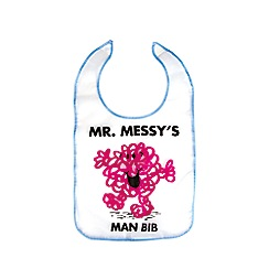 Mr Men - Mr. Messy's Man Bib