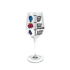 Mr Men - Mood Changing Wine Glass