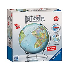 Ravensburger - The World on V-Stand Globe 540 piece 3D Jigsaw Puzzle