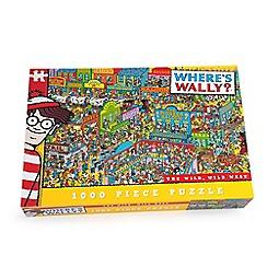 John Adams - Where's wally? Wild Wild West 1000 Piece Jigsaw Puzzle