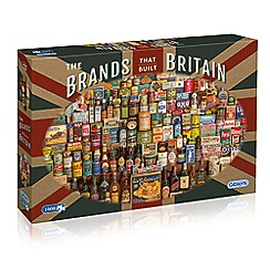 Gibsons - 'The Brands that Built Britain' 1000 piece jigsaw puzzle