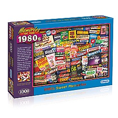 Gibsons - 'Memories of The 1980s' 1000 piece jigsaw puzzle