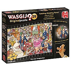 Wasgij - 1000 piece 'Catching Wedding Fever!' jigsaw puzzle