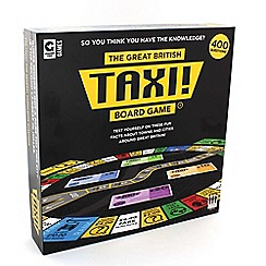 Ginger Fox - 'The Great British Taxi!' board game